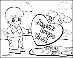 Jesus Loves You Coloring Page Loves You Coloring Page Printable Kids
