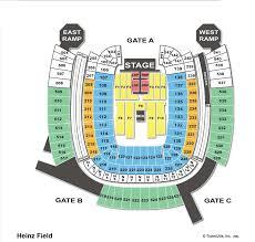 Boudd Heinz Field Seating Chart