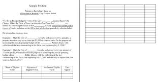 Printable Petition Template Paper Sample Templates For Flyers Word ...