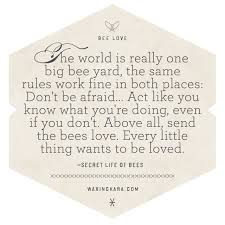 Secret Life Of Bees Quotes Custom Secret Life Of Bees Quotes Simple Secret Life Of Bees Quote About