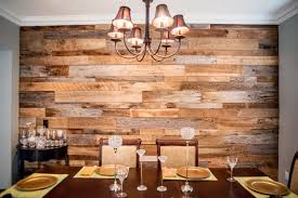 simple barnwood accent wall in reclaimed wood wall project a