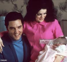 Elvis Presley and Priscilla with baby Lisa Marie Pictures | Getty Images
