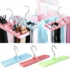 storage rack tie belt organizer space hook holder hanger wardrobe scarf from closetmaid
