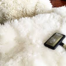 Faux Bearskin Rug Decorating Round White Faux Sheepskin Rug For Floor Accessories Ideas