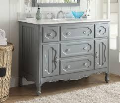 steel bathroom vanity. Adelina 48 Inch Antique Cottage Bathroom Vanity Grey Finish White Inspirational Design Ideas Retro Steel