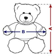 Teddy Bear Chart I Love My Hyundai Elantra 12 Inch Teddy Bear