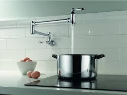 Delta Kitchen Faucet Reviews Delta 1177lf Ss Pot Filler Faucet Wall Mount Review