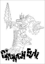 Kleurplaat Power Rangers Super Samurai Imprime Le Dessin Colorier De