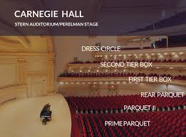 Carnegie Hall Perelman Stage Seating Chart 23 Clean Carnegie Hall Perelman Stage Seating Chart