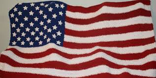 American Flag Crochet Pattern Impressive American Flag Blanket Free Crochet Pattern For Anyone Feeling