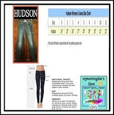 Hudson Jeans Size Chart Hudson Blue Distressed Seam Exposed Zips Super Pant Skinny Jeans Size 25 2 Xs