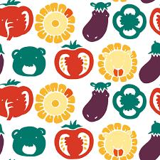 ベジアニマルズkurahiromi様第10回 Merlot コンテストテーマ夏野菜の