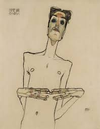 Five Things You Might Not Know About Egon Schiele | Self portrait drawing,  Drawings, Egon schiele