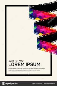 Film Poster Design Online Movie Film Poster Design Template Background Modern Vintage