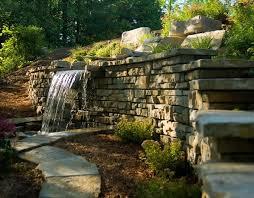 retaining wall blocks landscape