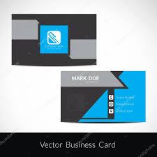Presentation Of Visiting Card Design Stock Vector Creativehat