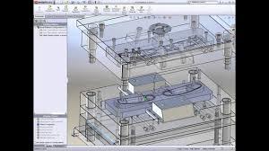 Product Mold Design Solidworks Mold Design
