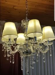 Lampenschirm Kronleuchter Kristallleuchte Neu