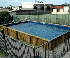above ground pool slide cf diy ladder