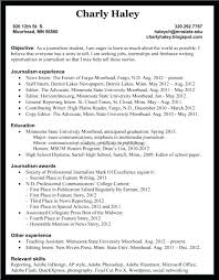 Journalist Resume Template. Freelance Resume For Freelance Writer ...