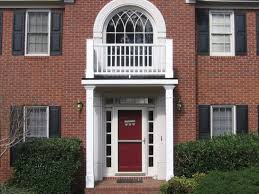 Door Color For Red Brick House With Black Shutters Red Brick House ...