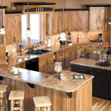 light oak cabinets stained hickory kitchen cabinets kitchen cabinet shenandoah cabinets