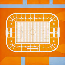 Bbva Compass Stadium Houston Seating Chart Bbva Compass Stadium Map Art