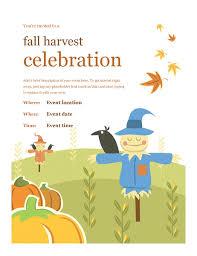 Fall Festival Flier Fall Flyer