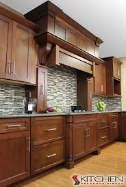 maple shaker kitchen cabinets. Masculine Style Kitchen With Linear Range Hood; Cabinets Shown Are Titusville RTA Shaker Maple Brandywine S