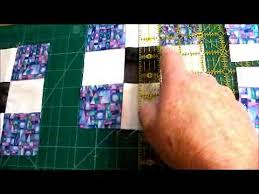 Disappearing Nine Patch Quilt Pattern Video - YouTube &  Adamdwight.com