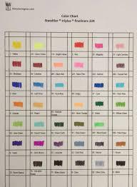 Staedtler Colored Pencils 48 Color Chart Staedtler Triplus Fineliner 36 Color Chart Www
