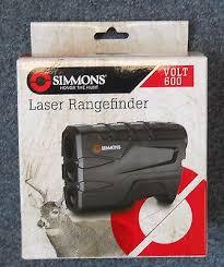 simmons vertical volt 600. 1 of 3 new simmons sim801600 rangefinder volt 600 4x20mm black 10-600 yards performance vertical