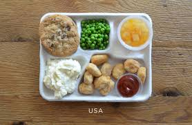 how school lunches around the world compare to america