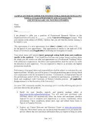 Postdoc Cover Letter Cv Resume Ideas
