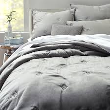 Washed Silk Quilt + Shams - Platinum | west elm & Washed Silk Quilt + Shams - Platinum Adamdwight.com