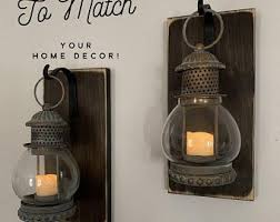 Pin by Ava Woods on home designs in 2020 | Lanterns decor, Sconces,  Farmhouse wall decor