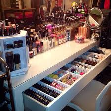 hopefully one day this will look like my makeup collection and storage