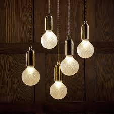 lee broom crystal bulb chandelier lee