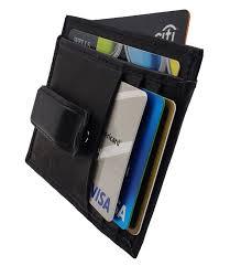 Designer Money Clip Wallet With Card Holder Details About Wallets Mens Leather Slim Money Clip Front Pocket Wallet Credit Card Holder