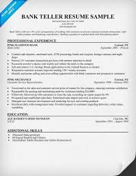 Resume In English Awesome Teller Job Description For Resume New Cashier Job Experience Resume