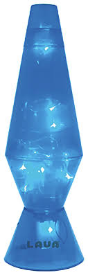 blue led le lava lamp from lava