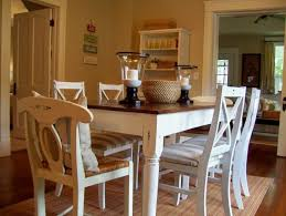 furniture breathtaking rustic white dining chairs 46 room sets with table pads have candles lamp and