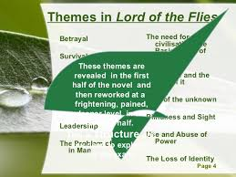 lotf structure themes in lord of the flies