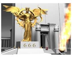 Image result for The Antichrist sits on his throne
