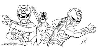 Coloring Pages Of Power Rangers Power Rangers Lost Galaxy Coloring