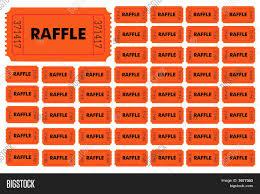 raffle tickets stock vector stock photos bigstock raffle tickets