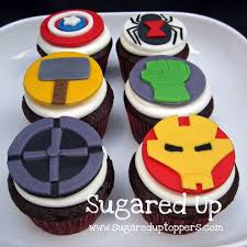30 Marvels The Avengers Cupcakes Cupcakes Gallery