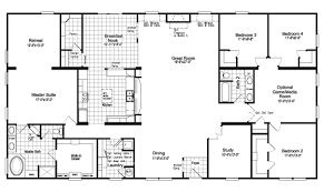 The Floor Plan For The Evolution Model Home By Palm Harbor Floor Plan Homes