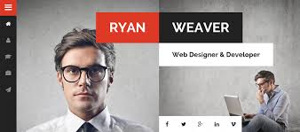 resume web templates 25 personal website templates for easy html websites