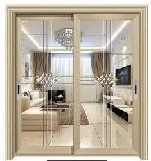 2 or 3 tracks aluminum exterior sliding door with mosquito net